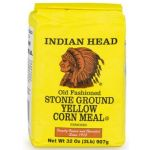 Indian Head Yellow Corn Meal, American  (907g, 2lb)